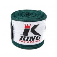 """Bintai """"King"""" 4.6m. - tamsiai žali"""