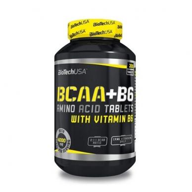 BIOTECH BCAA+B6 (200 tablečių)
