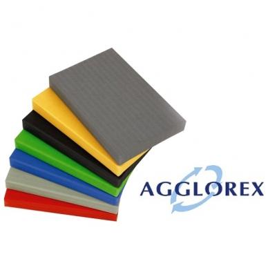 Dziudo tatamis Agglorex 2000x1000x25mm(II rūšis,vinilo danga)
