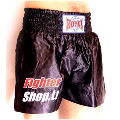 "K1 / Thai šortai ""Royal"" su FS.LT logo"