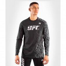 """Marškinėliai ilgomis rankovėmis """"Venum UFC"""" Authentic Fight Week - Black"""