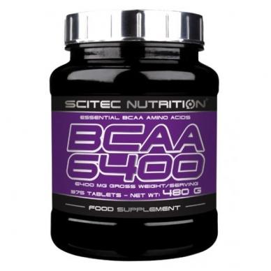 SCITEC BCAA 6400 (375 tabletės)
