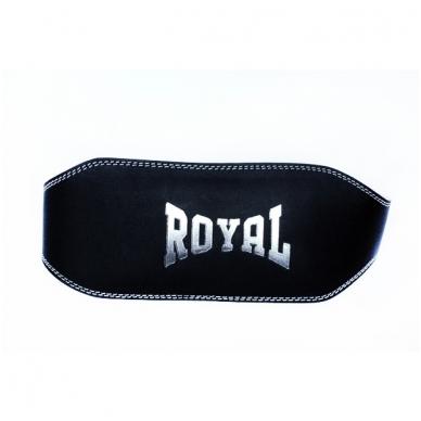 """Svorio kėlimo diržas - """"Royal""""-odinis"""