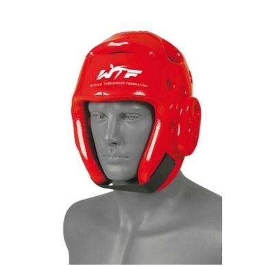 Taekwondo šalmas - raudonas